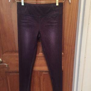 d8721db729 Women's Lucy IndiGO denim like leggings sz S NWOT